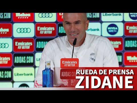 Rueda de prensa de ZIDANE previa al VALENCIA | Diario AS