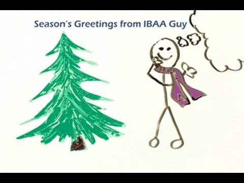Holiday Greetings from IBAA Guy