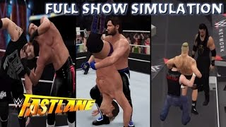 WWE 2K16 SIMULATION: FASTLANE 2016 FULL SHOW HIGHLIGHTS