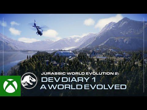 Jurassic World Evolution 2   Developer Diary #1   A World Evolved