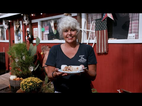 screenshot of youtube video titled The Barnwood Grill | Backroad Bites