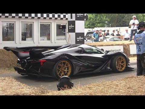 2018 Goodwood Festival of Speed - BEST of Supercar Madness!