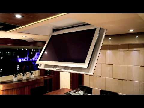 Future Automation Ch Marine Tv Ceiling Hinge Youtube