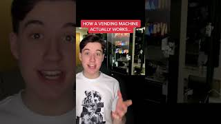 How A Vending Machine Actually Works #Shorts