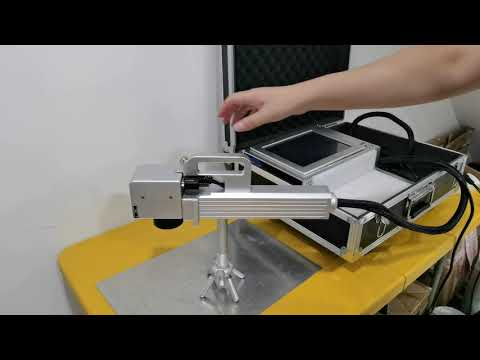 How a Really Portable Handheld Fiber Laser Engraver Machine For Metal Marking -- By HeatSign