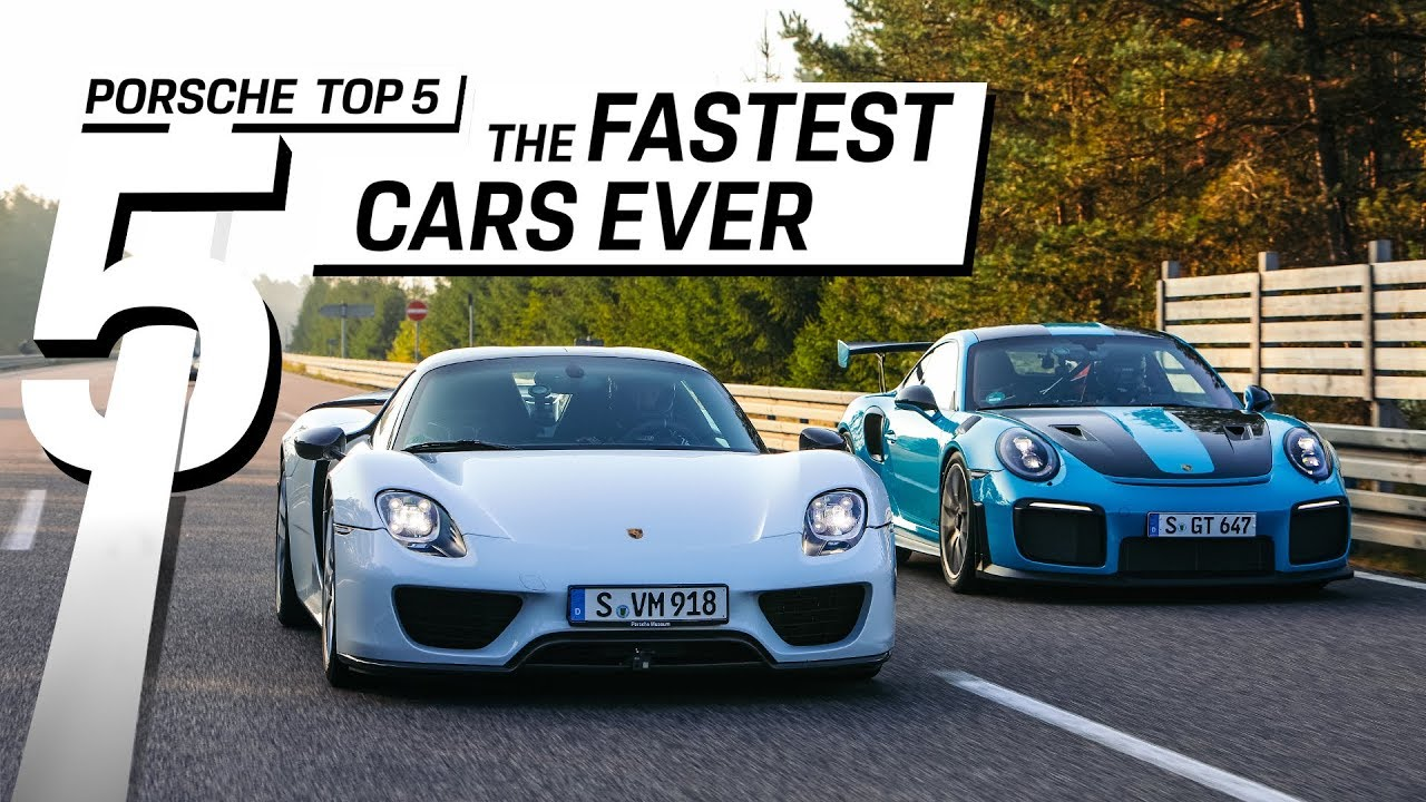 Porsche Top 5 – Superlative der Geschwindigkeit