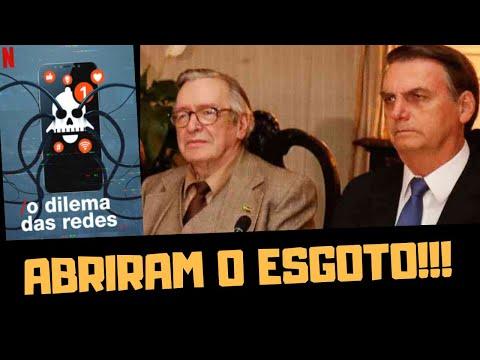 ABRIRAM O ESGOTO: OLAVO DE CARVALHO, BOLSONARO E O DILEMA DAS REDES