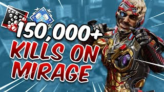 Meet The #1 Mirage In Apex Legends On All Platforms (150,000+ Kills)
