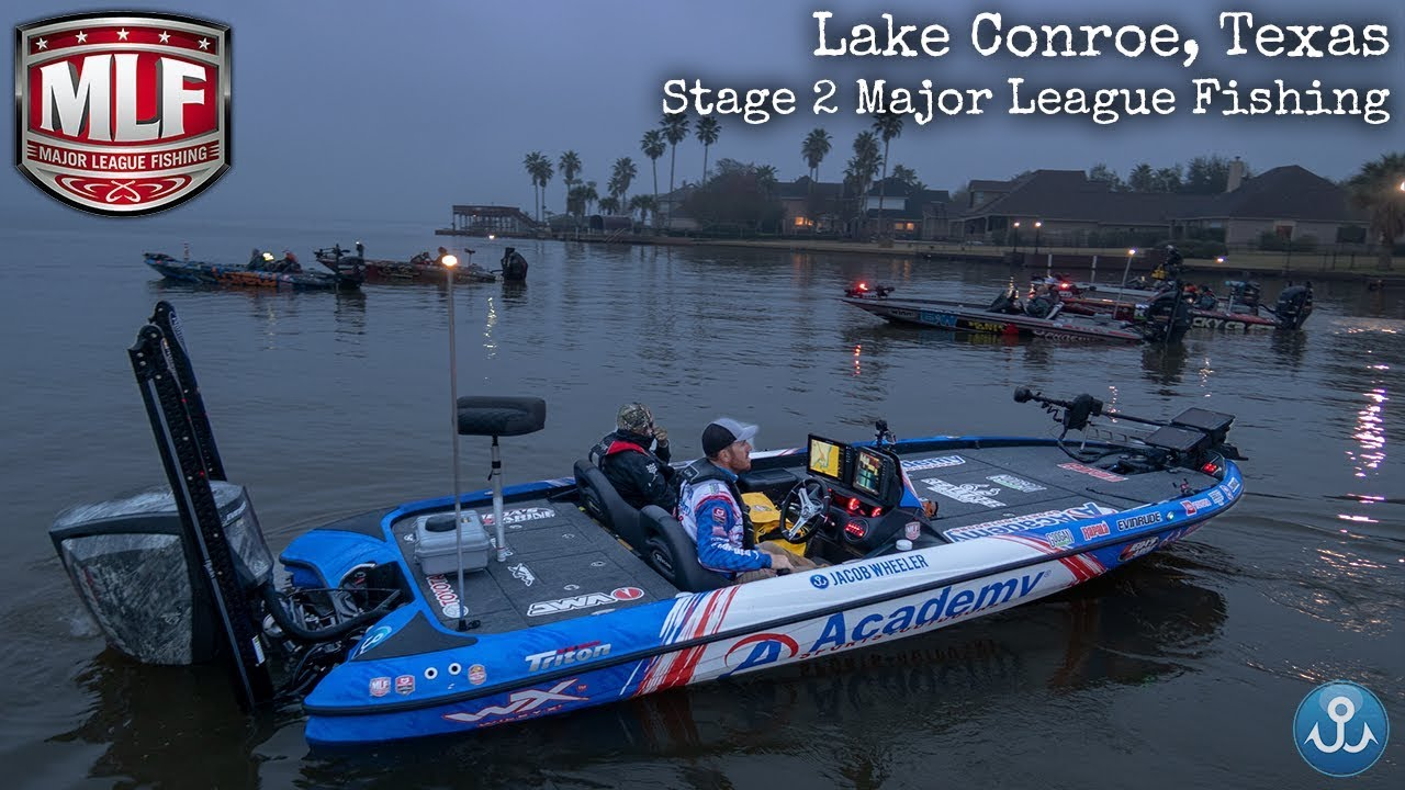 Stage Two Major League Fishing Pro Tour Lake Conroe Texas