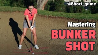 [Golf with Aimee] Aimee's Golf Lesson 013: Bunker Shot -Part 1