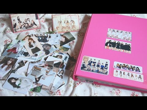 [Unboxing] Apink - Pink Luv photocards + my Secret, Apink and Aoa photocards 01.2015