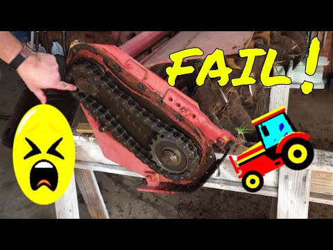 PTO Tiller Repair - (MASSIVE FAIL-2019)