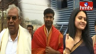 Tollywood Celebrities Visit Tirumala..
