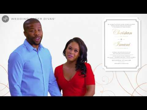 Foil Wedding Invitations | Wedding Paper Divas
