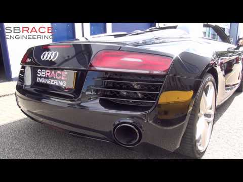 2nd UK Audi R8 Armytrix Exhaust: 2014 Spyder