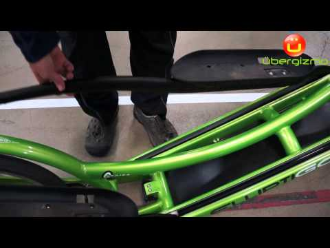 video ElliptiGO 8C Long Stride Outdoor Elliptical Bike and Best Hybrid Indoor Exercise Trainer