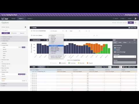Looker - Database to Dashboard Technical Demo