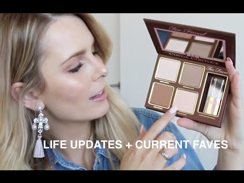 LIFE UPDATES + CURRENT FAVE PRODUCTS | RACHAEL BROOK