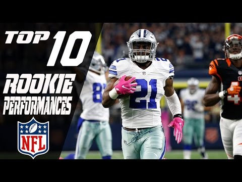 Top 10 Rookie Performances of the 2016 Season | NFL Highlights