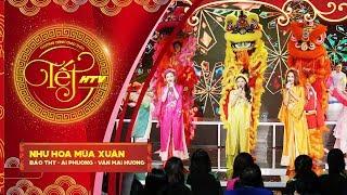 Như Hoa Mùa Xuân - Bảo Thy, Ái Phương, Văn Mai Hương   Tết HTV (Official)