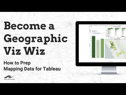 ​How to Prep Mapping Data for Tableau (Become a Geographic Viz Wiz!)
