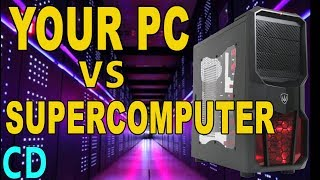 Top 10 Fastest Computers in the World 2016 - How much faster is a supercomuter than a PC or iPad Pro