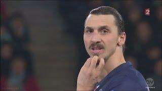 Zlatan Ibrahimovic vs AS St. Etienne Away (13/01/2015)