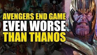 Avengers Endgame: Worse Than Thanos