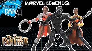 Black Panther Marvel Legends Movie Series Hasbro Figures Video Review