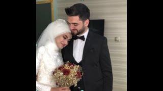 استقبال العروسه التركية لعريسها.....شوفوا الرومانسية والجمال الجزء الثاني first look