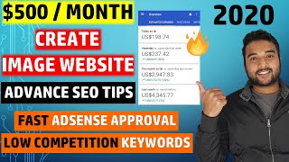🔥 Create FREE Image Website on Blogger From Scratch, Make $500/Month Using Adsense