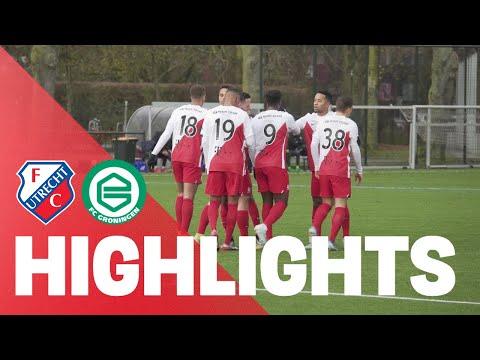 HIGHLIGHTS | FC Utrecht - FC Groningen (Oefenduel)