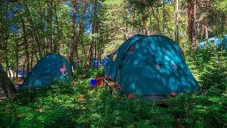 Туризм без лоска: палаточный лагерь в горах Архыза