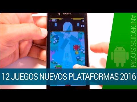 12 juegos nuevos de plataformas para Android de 2016