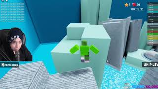 Quackity and Dream speedrun Roblox