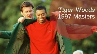 Tiger Woods Amazing Shots | 1997 Masters |