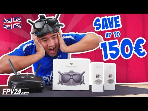 SPECIAL OFFER: DJI Digital FPV System – SAVE up to 150 Euros!