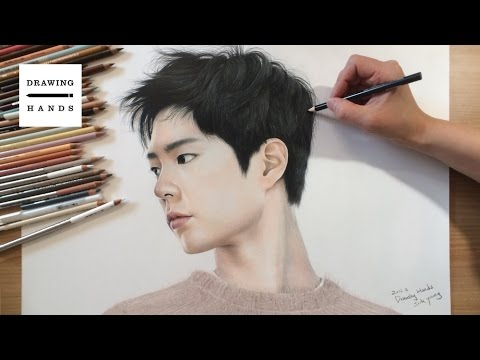 Speed Drawing Park Bogum [Drawing Hands]