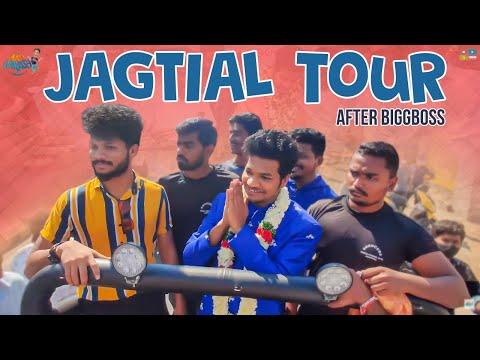 Bigg Boss fame Mukku Avinash gets a rousing welcome in Jagtial