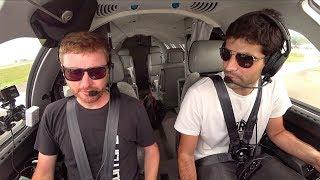 My 2nd TIME FLYING A JET! - Flight VLOG
