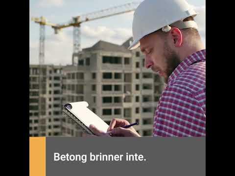 Tekniska fördelar med betong