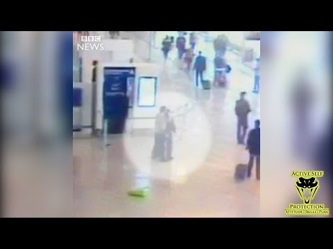 Paris Airport Attack Caught on Camera   Active Self Protection