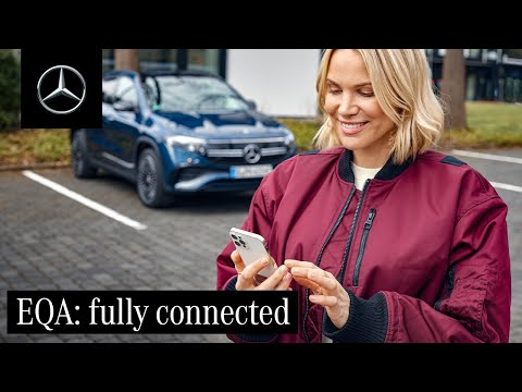 Mercedes me and Connected Services in the New EQA