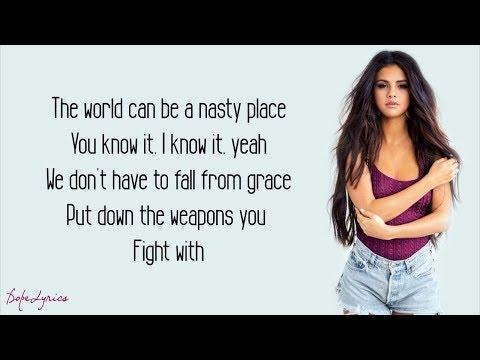 Selena Gomez - Kill Em With Kindness (Lyrics)