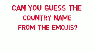 Can you guess the country name