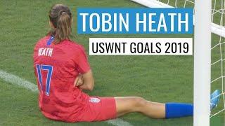Tobin Heath USWNT Goals 2019