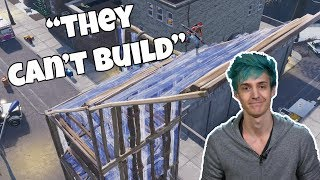 Ninja Says Console Players Can't do 90s and Build, He's Wrong...