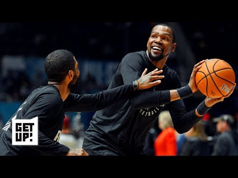 Kyrie to the Nets rumors means KD might stay with the Warriors | Get Up!