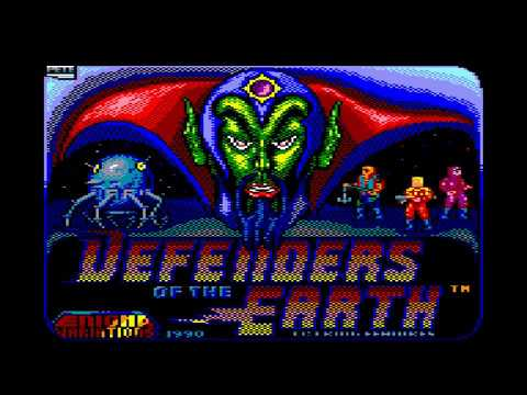 Defenders of the Earth - Amstrad CPC Longplay