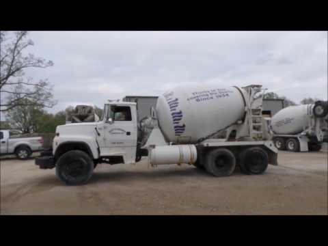 1997 Ford LT8000 ready mix truck for sale | no-reserve Internet auction May 25, 2017